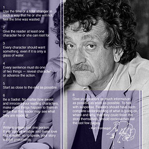 Kurt vonnegut writing