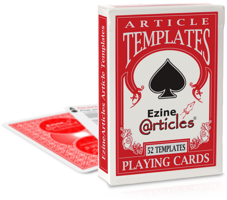 deck of cards ezinearticles shop. Black Bedroom Furniture Sets. Home Design Ideas