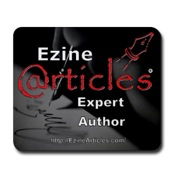 EzineArticles Mouse Pad