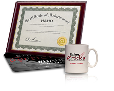 Limited-Edition EzineArticles #HAHD Mug & Mouse Pad