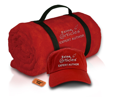 Limited-Edition EzineArticles Fleece Throw Blanket & Hat, plus admission to the private 4-hour Article Marketing Teleseminar hosted by Chris Knight!