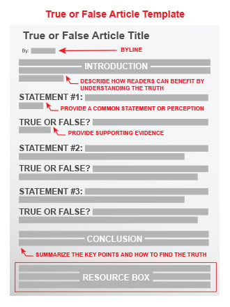 Play true or false quiz templates. | business templates, contracts.